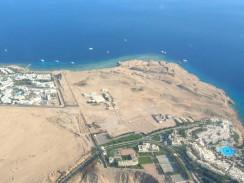 Египет. Шарм-эль-Шейх с высоты птичьего полета.