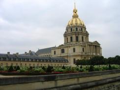 «Дом инвалидов» — архитектурный памятник. Париж. Франция.