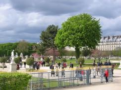 Франция. Париж. Сад Тюильри.
