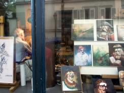 Бульвар Монпарнас на Монмартре. Париж. Франция.