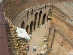 Италия. Рим. Под ареной Колизея были спрятаны клетки для зверей