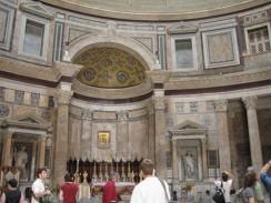 Приблизительная дата постройки Пантеона 118-128 гг. н.э. Рим. Италия.