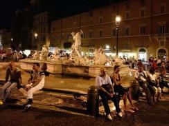 Пьяцца Навона. Рим. Италия.