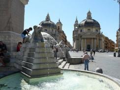 Площадь Пополо. Рим. Италия