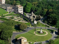 Италия. Рим. Сады Ватикана.