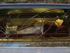 Италия. Рим. Ватикан. Забальзамированное тело блаженного папы Иоанна XXIII