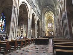 Интерьер собора Святого Вита. Прага. Чехия.