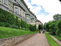 Чехия. Прага. Прогулка под стенами Пражского града.
