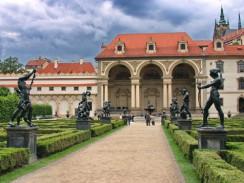 Валленштейнский дворец. Прага. Чехия.