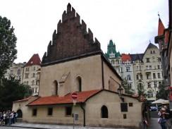 Чехия. Прага. Староновая синагога в Йозефовом квартале.