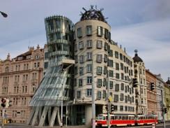 Чехия. Прага. «Танцующий дом».