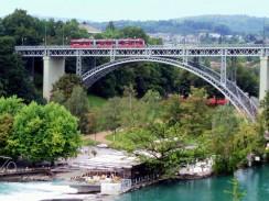 Река Ааре. Берн. Швейцария.