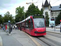 Швейцария. Берн. Трамвай.