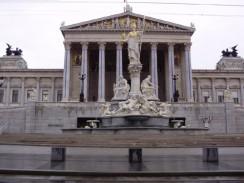 Здание Парламента Австрии. Вена