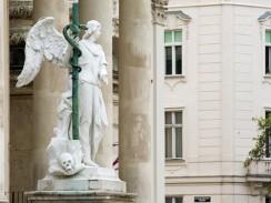 Церковь Карлскирхе. Вена. Австрия