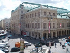 Здание театра Венской оперы. Австрия