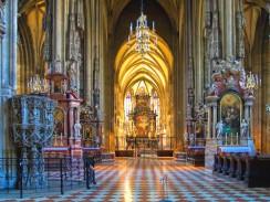 Интерьер Собора Святого Стефана. Вена. Австрия