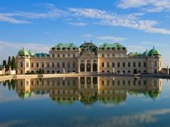 Верхний Бельведер. Вена. Австрия