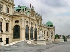Австрия. Вена. Вход во дворец Бельведер
