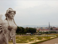 Сад дворца Бельведер. Вена. Австрия