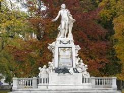 Памятник Моцарту. Вена. Австрия.
