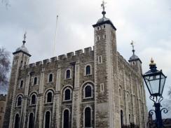 Англия. Лондон. Тауэр. Белая Башня.