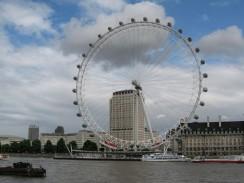 Англия. «Лондонский глаз» — колесо обозрения