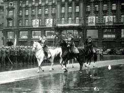 Парад на Красной Площади 24 июня 1945 года. Москва. СССР