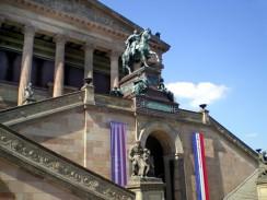 Германия. Берлин. Музейный Остров. Старая национальная галерея