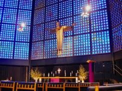 Германия. Берлин. Гедехтнискирхе — «Синяя церковь»