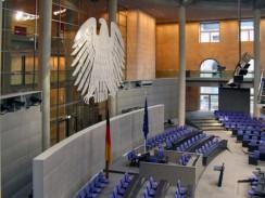 Германия. Берлин. Зал пленарных заседаний Бундестага