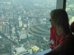 Таиланд. Ценр Бангкока. Вид с 84 этажа отеля Bayoke Sky
