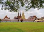 Таиланд. Бангкок. Комплекс Большого Королевского дворца.