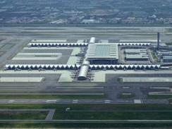Suvarnabhumi International — один из двух аэропортов Бангкока. Таиланд.