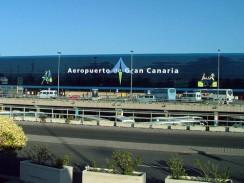 Аэропорт Gando. Лас-Пальмас. Испания