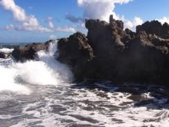 Застывшая лава. Тенерифе. Испания.