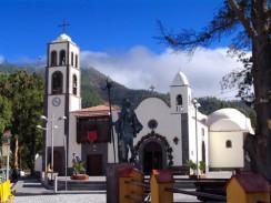 Церковь в Вила-Сантьяго. Остров Тенерифе. Испания