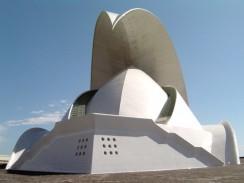 Концертный зал. Санта-Крус-де-Тенерифе. Испания