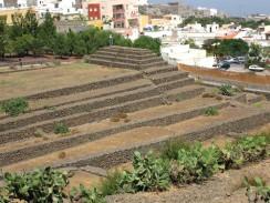 Ступенчатые пирамиды Гуимар. Тенерифе. Испания.
