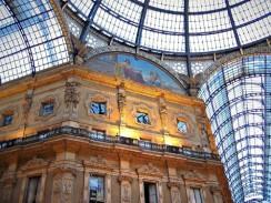 Здание галереи Виктора Эмануэля II. Милан. Италия.