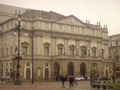 Оперный театр «Ла Скала». Милан. Италия.