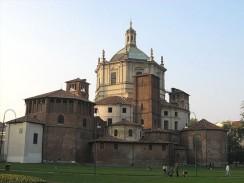Базилика Святого Лаврентия или Сан-Лоренцо-Маджоре. Милан. Италия.