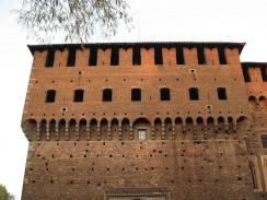 Италия. Милан. Castello Sforzesco — замок Сфорца