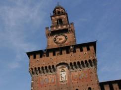 Крепость Сфорца. Милан. Италия.