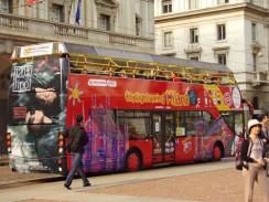 Италия. Милан. Экскурсионный автобус.