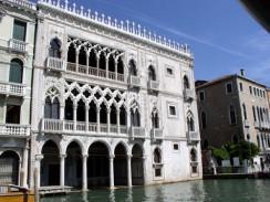 Ка д'Оро, или палаццо Санта-София — дворец на Гранд-канале в районе Каннареджо. Венеция. Италия