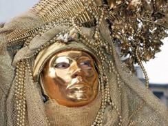 Италия. Венецианский карнавал традиционно проходит в январе-феврале.