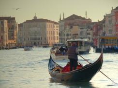 Италия. Венеция. Гондола.
