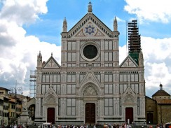 Италия. Флоренция. Базилика Санта-Кроче — Церковь Святого Креста