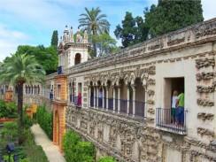 Королевский Алькасар в испанской Севилье.